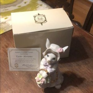 Limited Edition Lenox Easter Blossoms Figure 24 kt